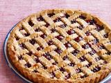 Grandma Monette's Cherry Jam Tart