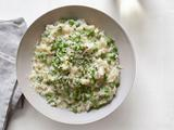 Risotto With Yogurt and Peas