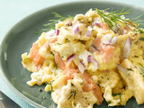 Rob's Smoked-Salmon Saltine Brei