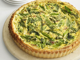 Ricotta, Ham and Scallion Tart