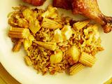 Pineapple-Corn Fried Rice