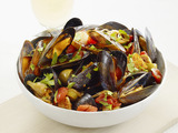 Mussels With Potatoes and Olives