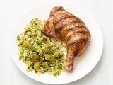 Grilled Chicken with Bulgur