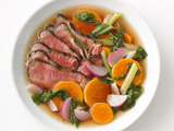 Sirloin With Teriyaki Broth