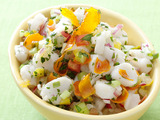 Scallop Ceviche with Candied Citrus
