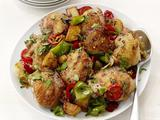 Broiled Chicken With Peppers