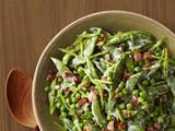 Creamy Spring Peas With Pancetta