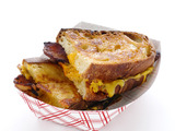 Grilled Cheese With Bacon and Thousand Island Dressing