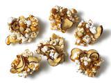 Caramel Apple Popcorn Clusters