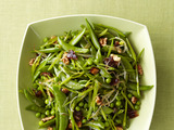 Spring Peas With Dates and Walnuts