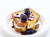 Grilled Pound Cake With Marscarpone