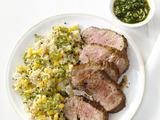 Spice-Rubbed Pork With Quinoa