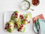 Lettuce Wedges With Blue Cheese Dressing