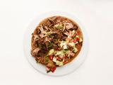Middle Eastern Steak Pitas