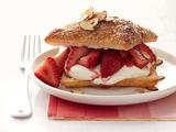 Strawberry Napoleons With Prosecco Cream