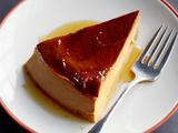 Orange-Coffee Flan