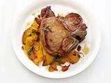Pork Chops with Squash and Sage