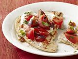 Grilled Bread With Tomato-Ginger Salad