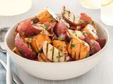 Grilled Potato Salad With Bacon-Scallion Vinaigrette