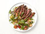 Skirt Steak With Arugula Salad