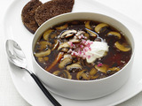 Mushroom-Caraway Soup