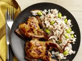 Grilled Quail With Miso