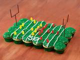 Pull Apart Touchdown Cupcakes
