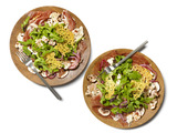 Prosciutto and Pickled Vegetables With Cheese