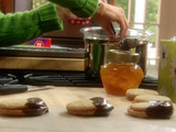 Cheaters Hazelnut Sandwich Cookies