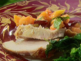 Roasted Turkey with Papaya-Cranberry Salsa