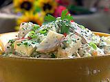 The Lady's Warm Potato Salad