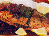 Snapper with Olives: Cernia con Olive