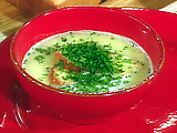 Garlic Lovers' Soup with Cheese and White Wine: Billomoise