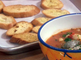 Cioppino Garlic Crostini