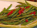 Sauteed Green Beans with Pimento