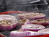 Grilled Red Onions
