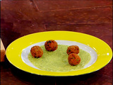 Crawfish Boulettes with Creole Tartar Sauce