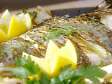 Mediterranean Grilled Whole Snapper with Fennel and a Pernod Butter Sauce
