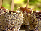 Coconut-Coated Candied Apples