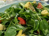 Artichokes, Asparagus, and Watercress Salad with Cumin Vinaigrette