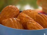 Pina Colada Madeleine Cookies
