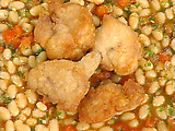 Crispy Sweetbreads with White Bean Ragout