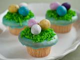 Robin's Egg Easter Basket Cupcake
