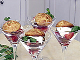 Strawberry Shortcake Martinis