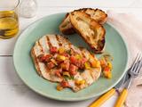Chicken Paillards With Herb-Tomato Salad