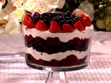 Red, White, and Blue Trifle