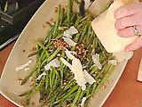 Roasted Asparagus with Tasso