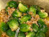 Nutty Brussels Sprouts