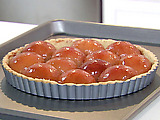 Plum Tart with Almond Pastry Crust