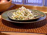 Fennel and Endive Salad with Rose Vinaigrette